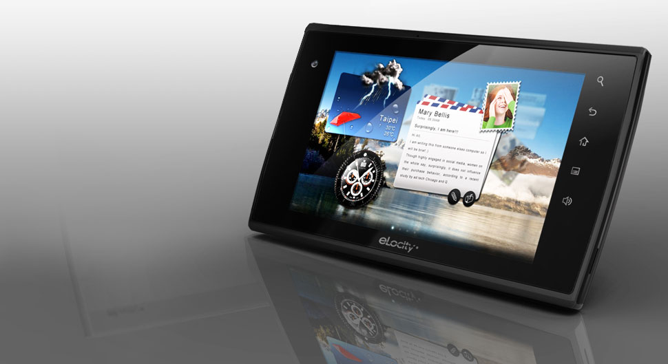 A7 Internet Tablet from eLocity