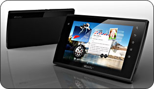 the eLocity A7 Internet Tablet