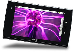 the eLocity A7+ Internet Tablet